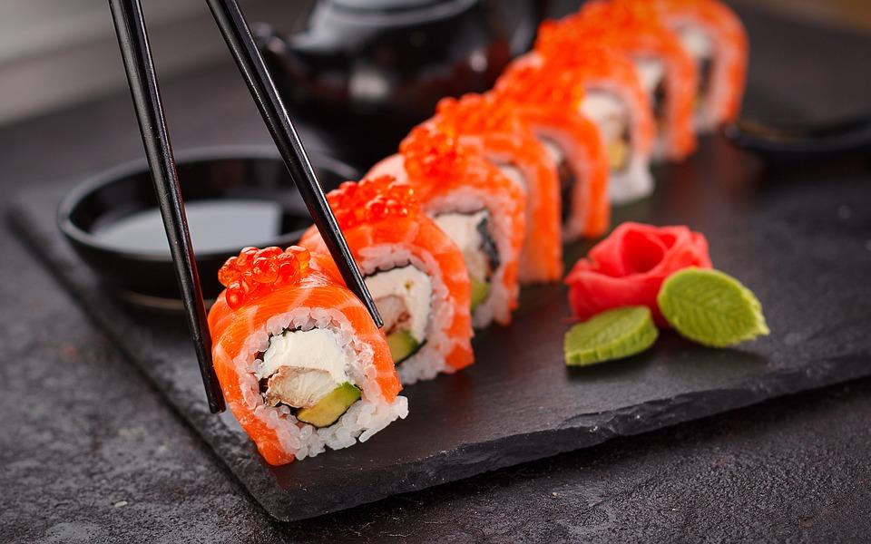 gode sushi steder i København