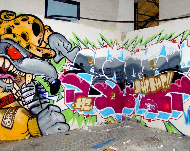 Graffitirens er simpelt
